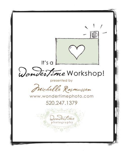 Wondertime Workshop by Michelle Rasmussen