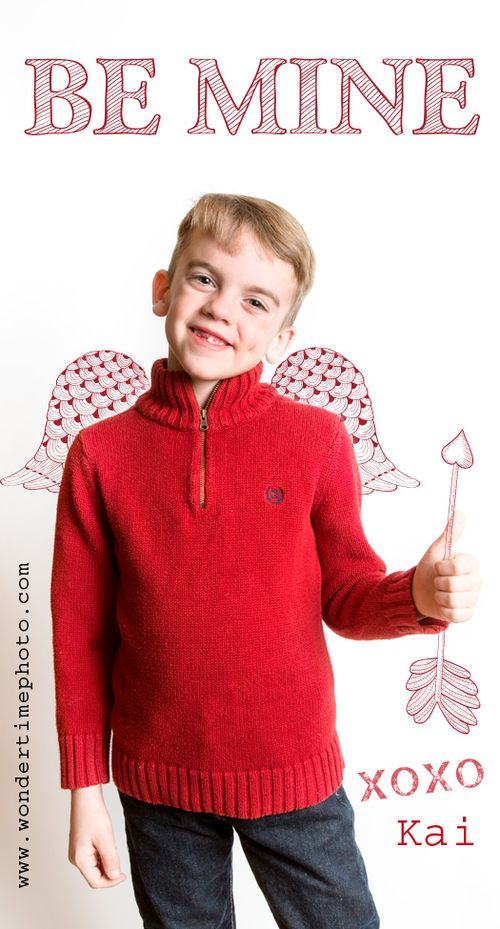 Tucson Children's Photographer - Valentine's Card